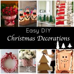 diy decorations and easy diy decorations for a festive home