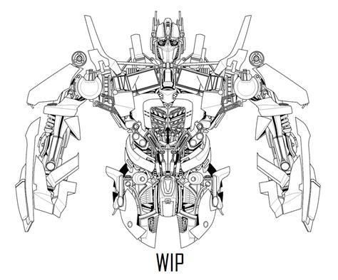 optimus prime update   hybridmode  deviantart