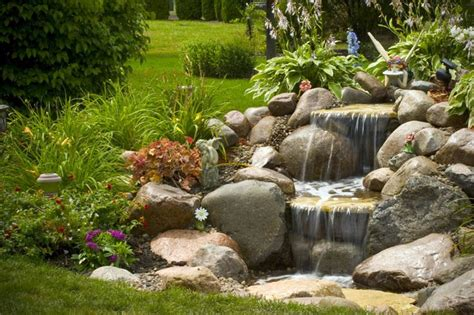 backyard waterfall designs 15 brick rock waterfall designs to make your