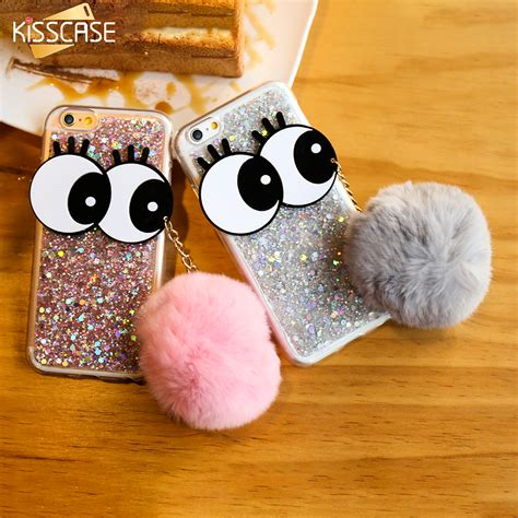iphone 6 6s eye kisscase for iphone 6 6s plus 7 plus glitter