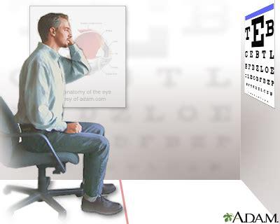 imagenes test visual visual acuity test medlineplus medical encyclopedia image