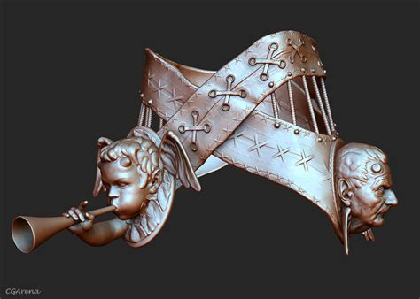 zbrush belt tutorial making of angel in zbrush