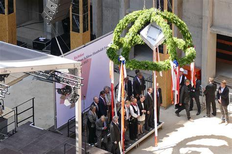 mediapool berlin humboldt forum grundsteinlegung richtfest events