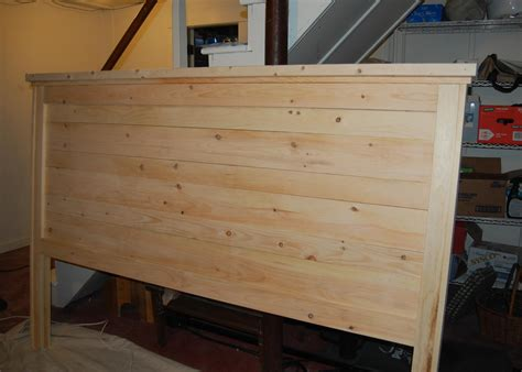 how to build king size headboard plans plans woodworking