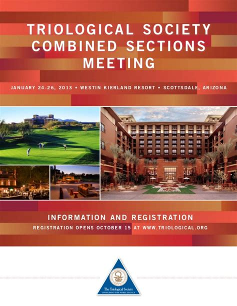 combined sections meeting triological society combined sections meeting