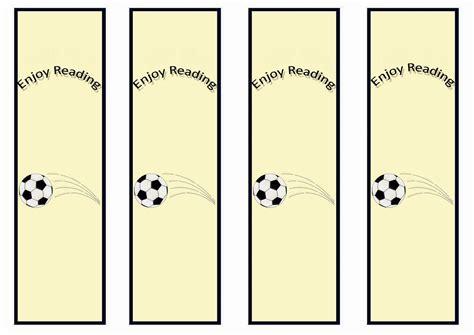 printable bookmarks soccer soccer bookmarks birthday printable