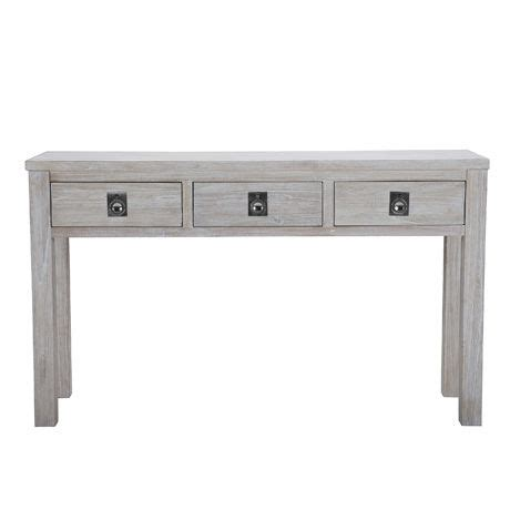 Freedom Console Table Cancun 3 Drawer Console Table White Wash Freedom Furniture Bedroom Freedom