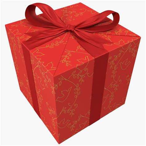 gift boxes 3d model gift box 3 1