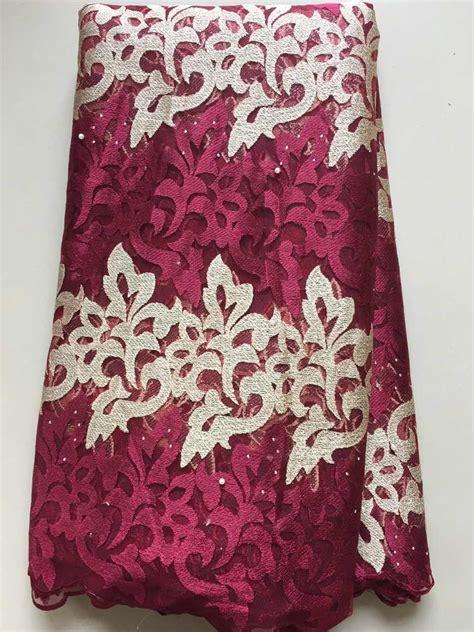 2017 laces fabrics high quality