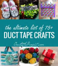 Easy Duct Tape Crafts For Kids - the ultimate list of duct tape crafts 75 amazing ideas