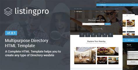 themeforest listingpro listingpro html multipurpose directory template by
