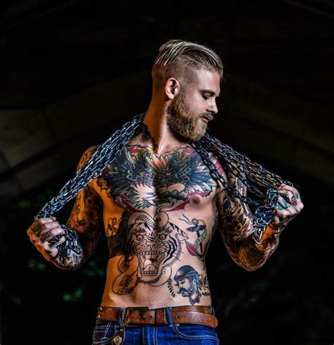 tattoo full body model beards tattoos ink pinterest tattoo josh mario
