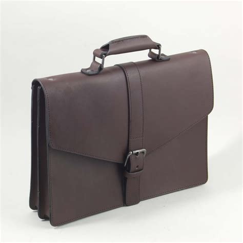 Handmade Leather Briefcase Uk - briefcase