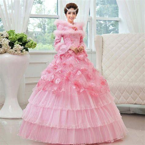 1707026 Pink Gaun Pengantin Wedding Gown Dress gaun pengantin muslim muslim