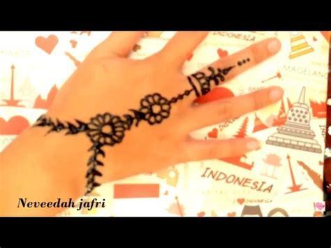 youtube membuat henna download cara membuat henna simple di tangan 5 76 mb