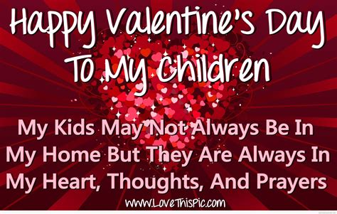 valentines day for children happy s day to my children pictures photos and