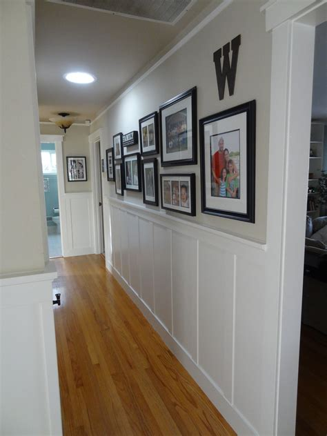 add character  hallway wainscoting