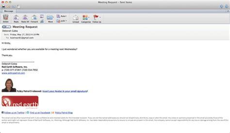 format of email signature email signature format slim image
