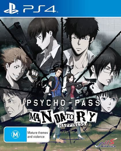Best Seller Ps4 Psycho Pass Mandatory Happiness Reg 2 psycho pass mandatory happiness ps4 on sale now at mighty ape australia