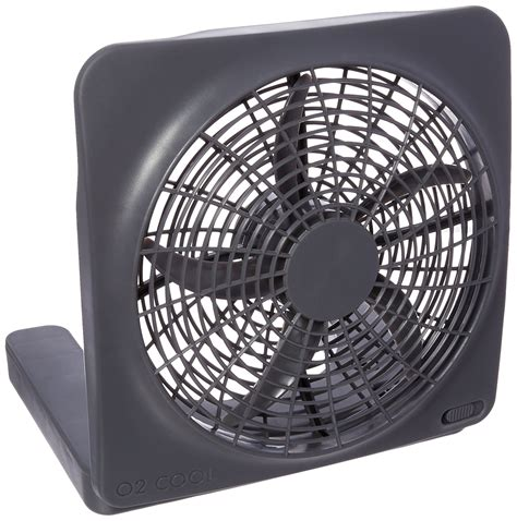 10 battery operated fan o2cool 10 quot battery operated fin fan with ac adapter