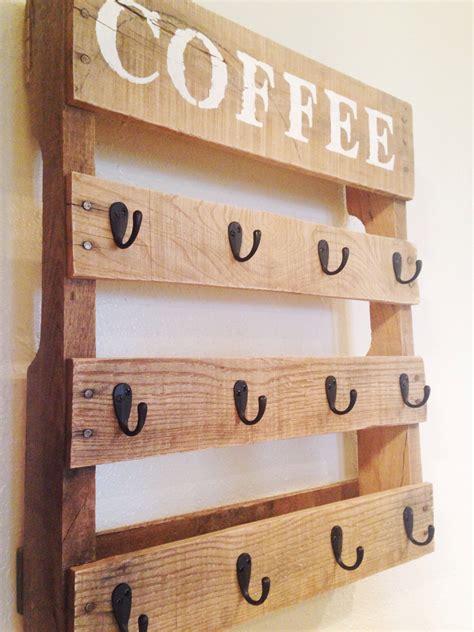 Coffee Cup Wall Rack by Coffee Cup Rack One Bird