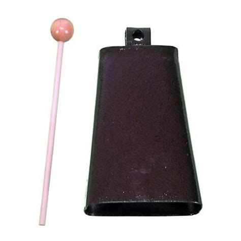 Cow Bell peripole 7 quot cowbell with mallet