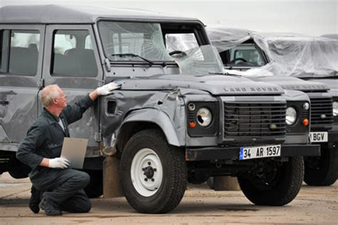 range rover truck in skyfall land rover defenders used in skyfall on display bond