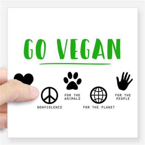 Vegan Stickers go vegan bumper stickers car stickers decals more