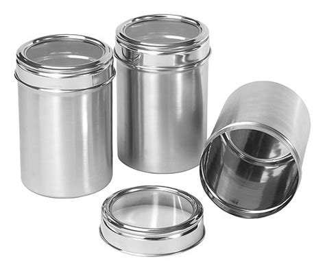 Stainless Steel Kitchen Canisters Sets by Kitchen Canisters Designs For Modern Living Buungi Com
