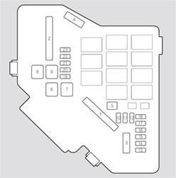 honda civic 2008 fuse box diagram auto genius