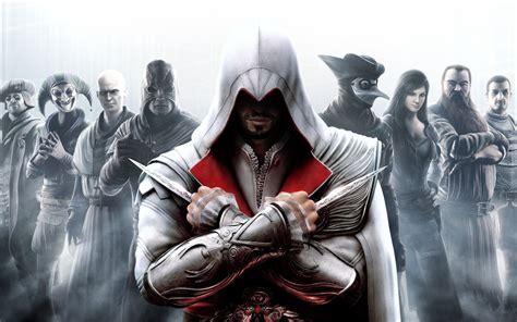 assassins creed the brotherhood assassin s creed wallpaper 23388477 fanpop