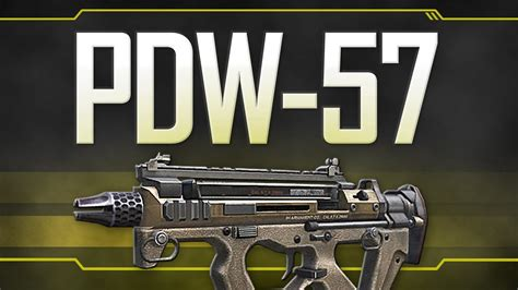 Call Of Duty 57 pdw 57 black ops 2 weapon guide