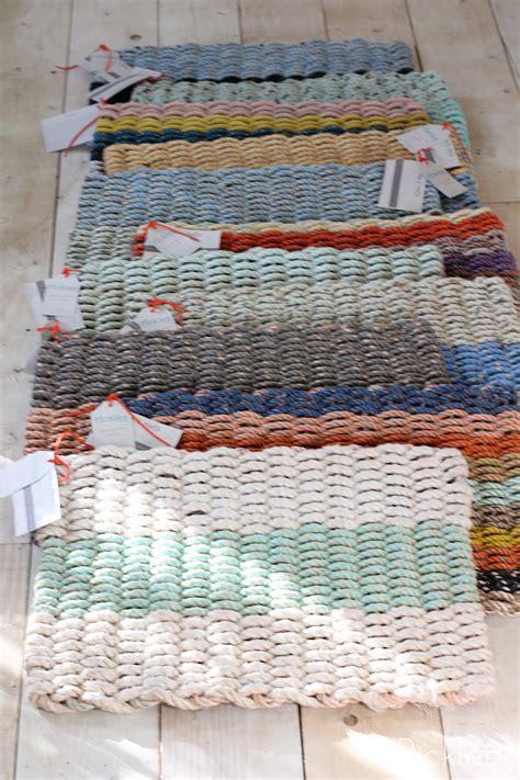 Handmade Mats - handmade recycled float rope door mats picklee on