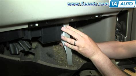 Where Is Cabin Filter Located by Cabin Air Filter Location 2003 Silverado Get Free Image