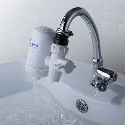 Kitchen Faucet Filter by Ceramic Activated Carbon Tap Water Filter Drinking Water