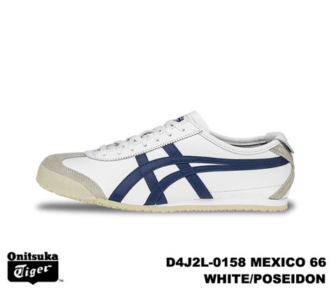 Po Onitsuka Tiger Mexico 66 Soft Leather Poseidon Blue Grey premium one rakuten global market onitsuka tiger mexico