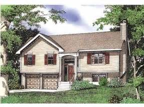 Front To Back Split Level House Plans by Split Level House Plans At Eplans Com House Design Plans