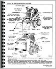 bobcat 751 skid steer loader service manual