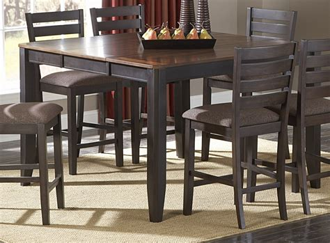 Dining Room Table With Butterfly Leaf Homelegance Natick Counter Height Table With Butterfly Leaf 5341 36 Homelegancefurnitureonline