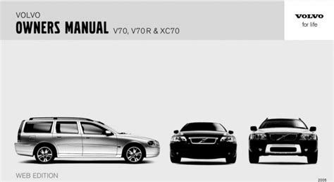 service manual download car manuals pdf free 2007 volvo xc70 electronic valve timing 100