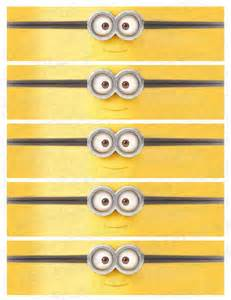 water bottle labels minions labels minion birthday by