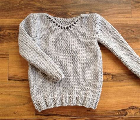 knitting baby sweater for beginners classic jumper sweater beginner knitting kit set by stitch