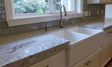 Anderson Cabinets Glorious River White Granite Decorating Ideas
