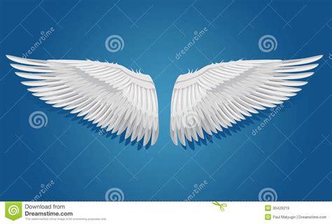 Imagenes De Alas Blancas | alas blancas del vector im 225 genes de archivo libres de