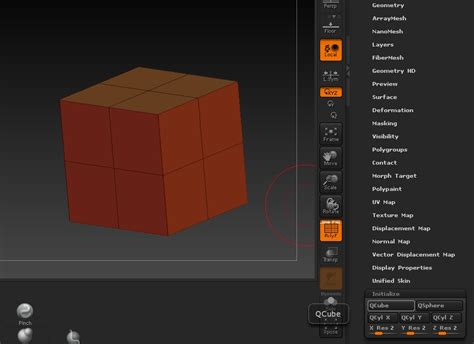 tutorial zbrush r7 zbrush zmodeler tutorial split jayanam gamedev tutorials