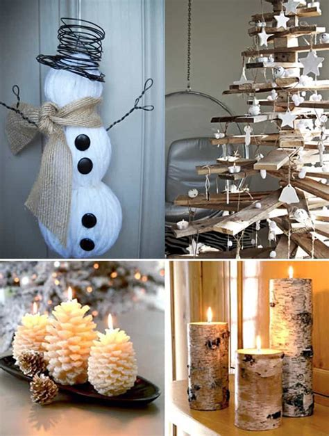 how to decorate a home for christmas 20 natural christmas decorations for a lovely home