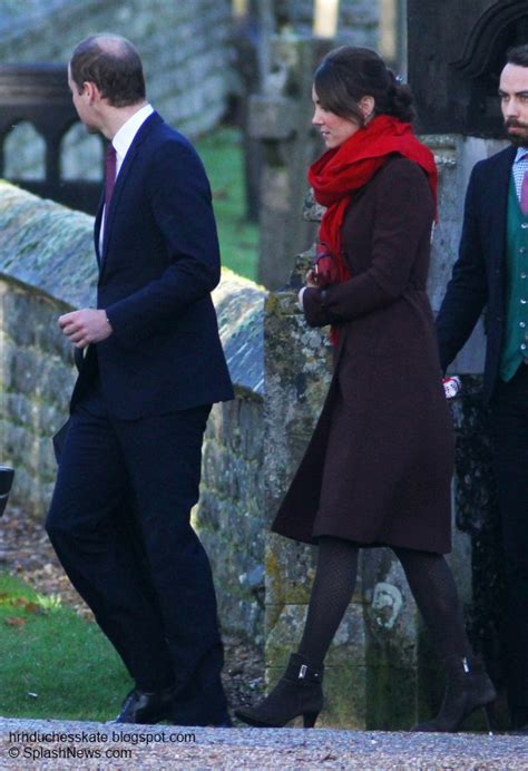 duchess kate william and kate attend christmas day