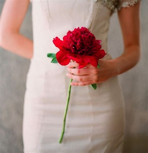 Unique Single Stem Flowers Wedding Different Types Of Red Roses Bouquet For Wedding