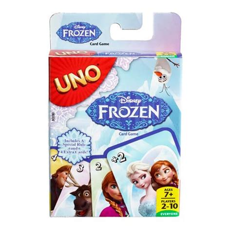 Disney Uno Mattel disney frozen uno card mattel frozen at entertainment earth