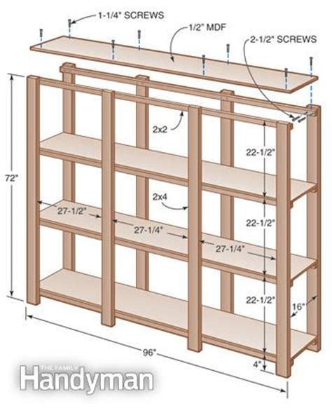 Garage Shelving Woodworking Plans How To Build 2x4 Garage Shelves Plans Pdf Plans